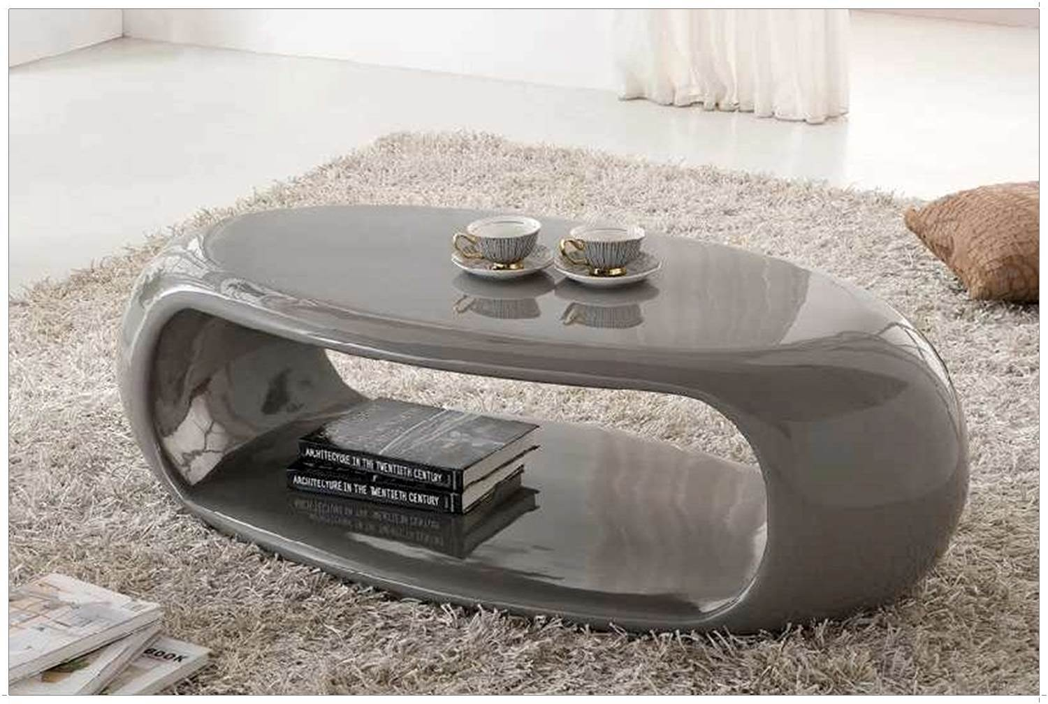Table basse lumineuse pas cher mobilier design for Table ovale pas cher