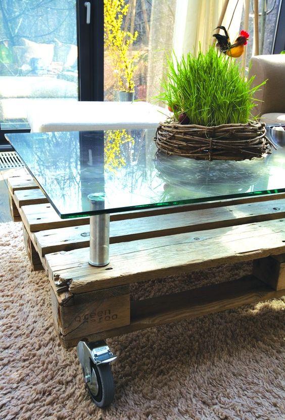 Que mettre sur une table basse en verre