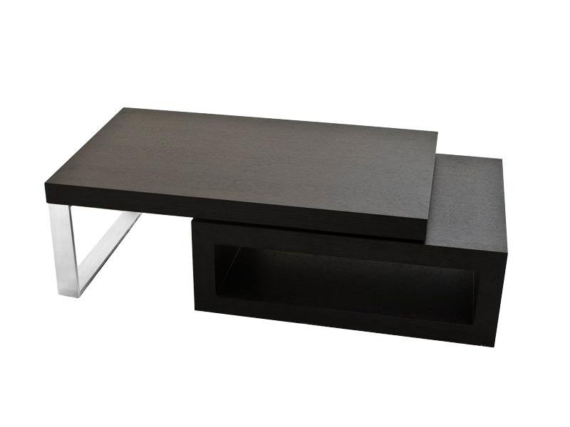 Table basse ronde weng 4 poufs mobilier design d coration d 39 int rieur - Table basse ronde wenge ...
