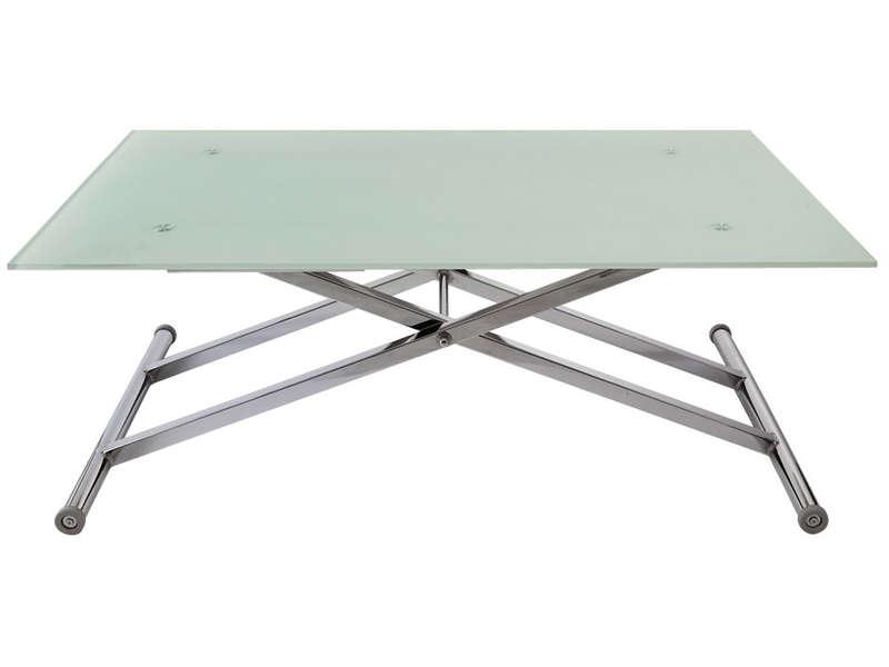 table basse alinea en verre - mobilier design, décoration d'intérieur