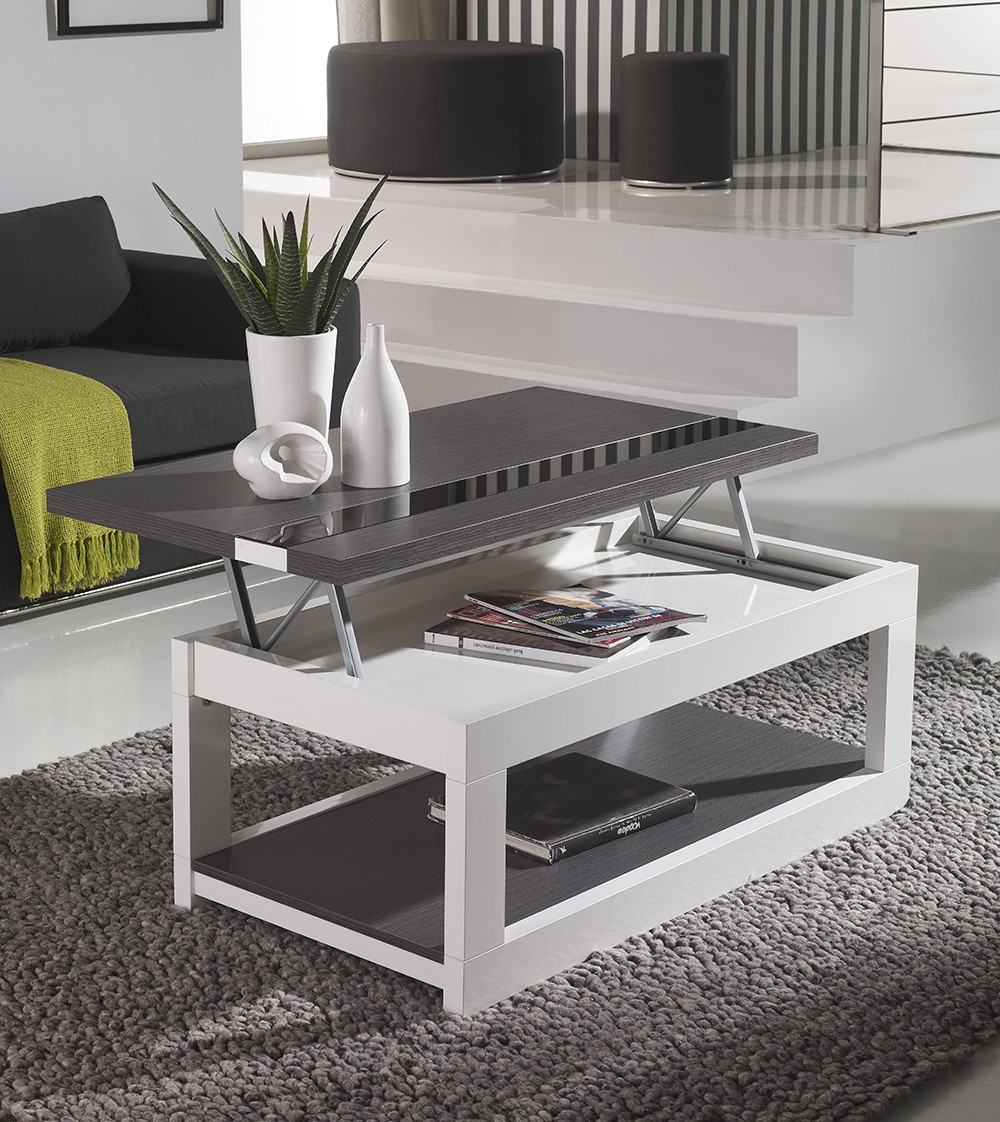 Table basse qui se leve pas cher mobilier design d coration d 39 int rieur for Mobilier moderne design pas cher