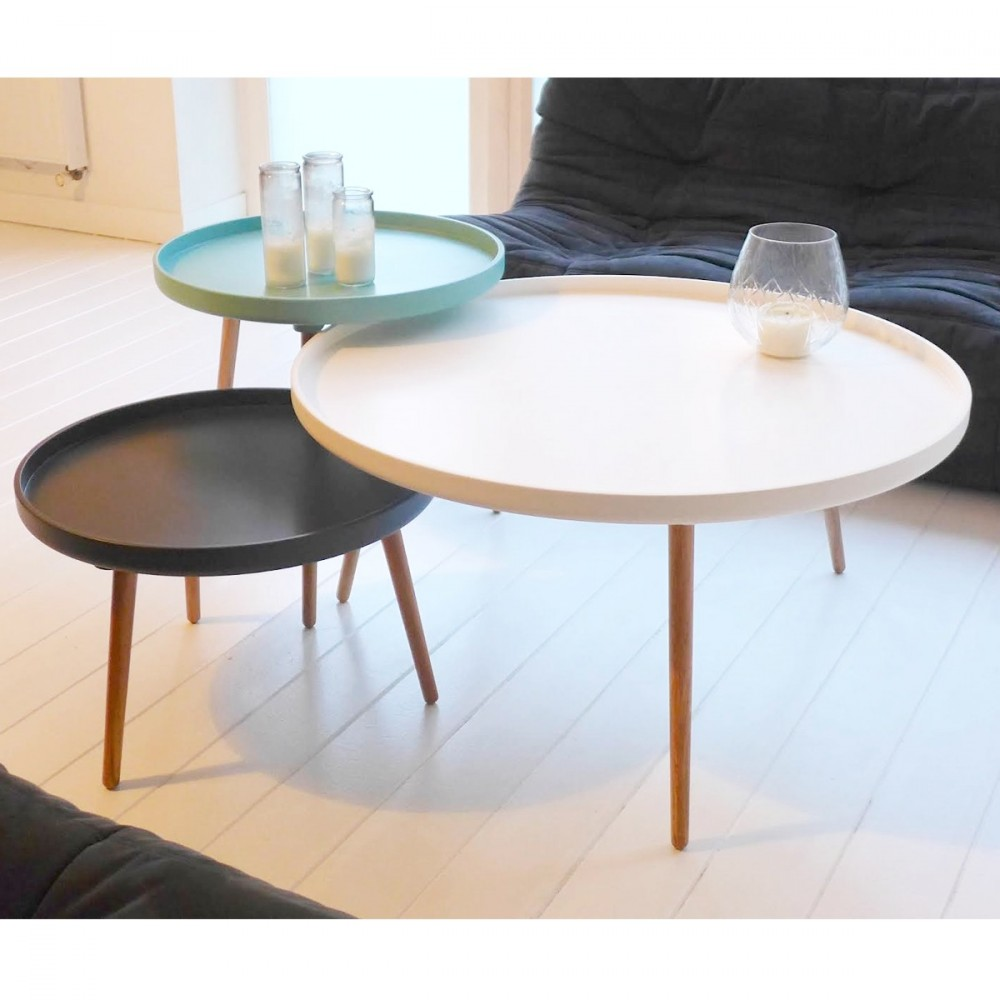 Table basse gigogne ronde amazing tables basses gigogne for Alinea table ronde