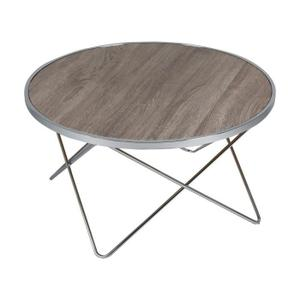 Table basse ronde en acier