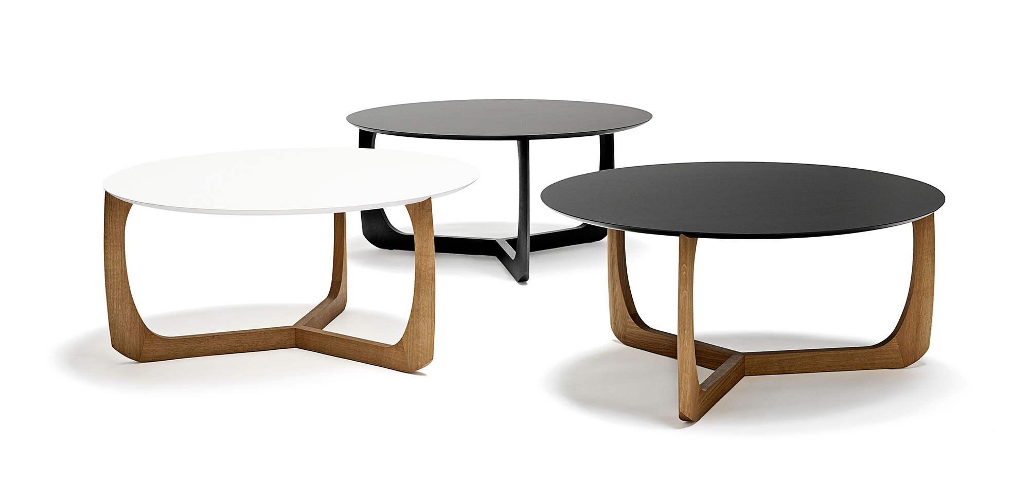 Table basse ronde ovale pas cher