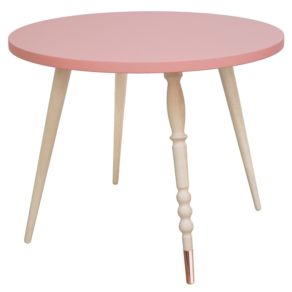 Table basse ronde hetre