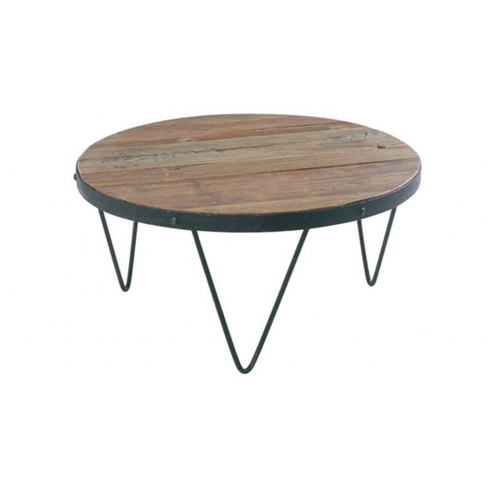 Table basse ronde pied central mobilier design - Table basse pied central ...
