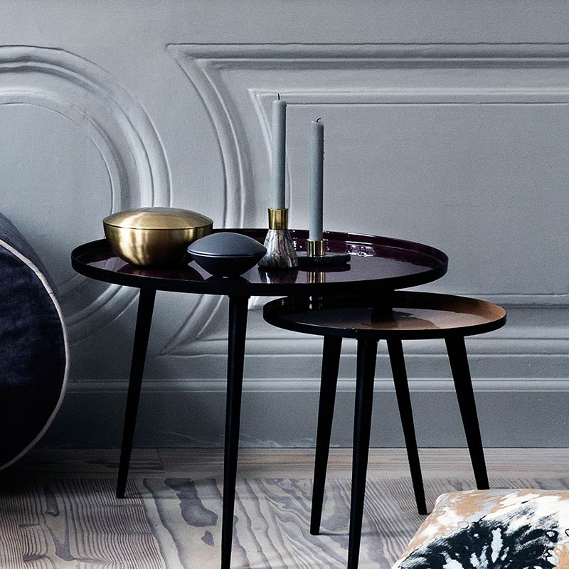 table basse ronde jelva broste copenhagen mobilier. Black Bedroom Furniture Sets. Home Design Ideas