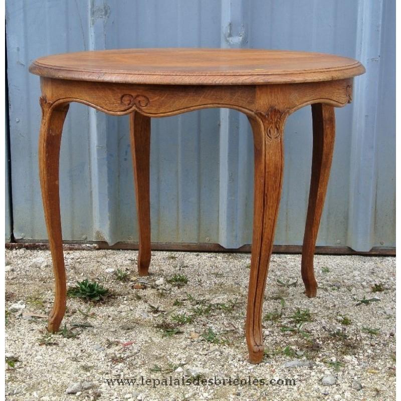 D'intérieur Ronde Ancien Table Basse Style Mobilier DesignDécoration wXn0Pk8O