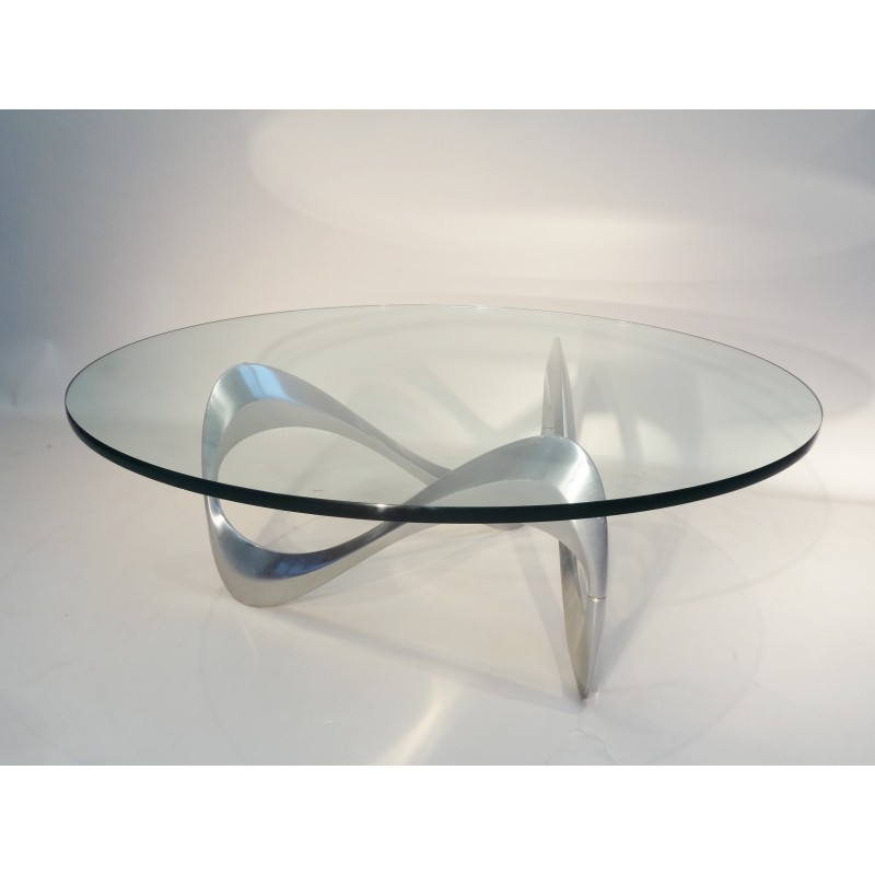 Table basse en verre italienne mobilier design - Table italienne en verre ...