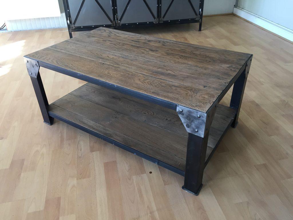 Fabriquer table basse style industriel mobilier design d coration d 39 int rieur - Fabriquer table basse design ...