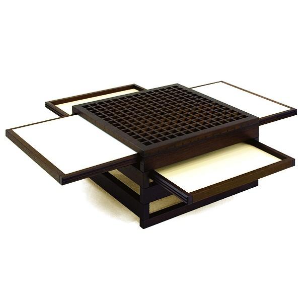 Table basse japonaise pas cher