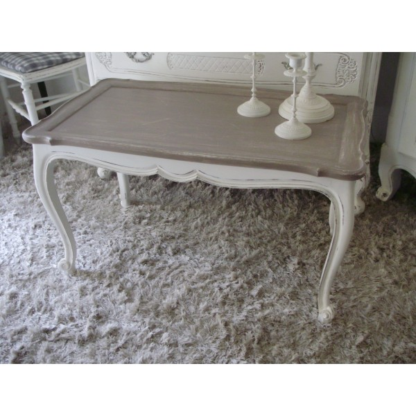 Table Basse Ronde Shabby Mobilier Design Decoration D