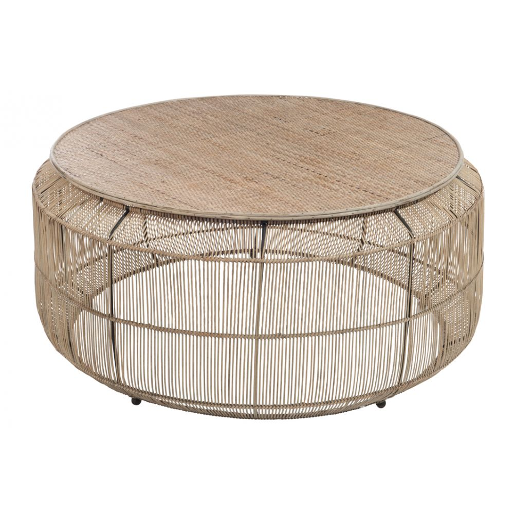 Table basse osier pas cher mobilier design d coration d for Table ronde en osier