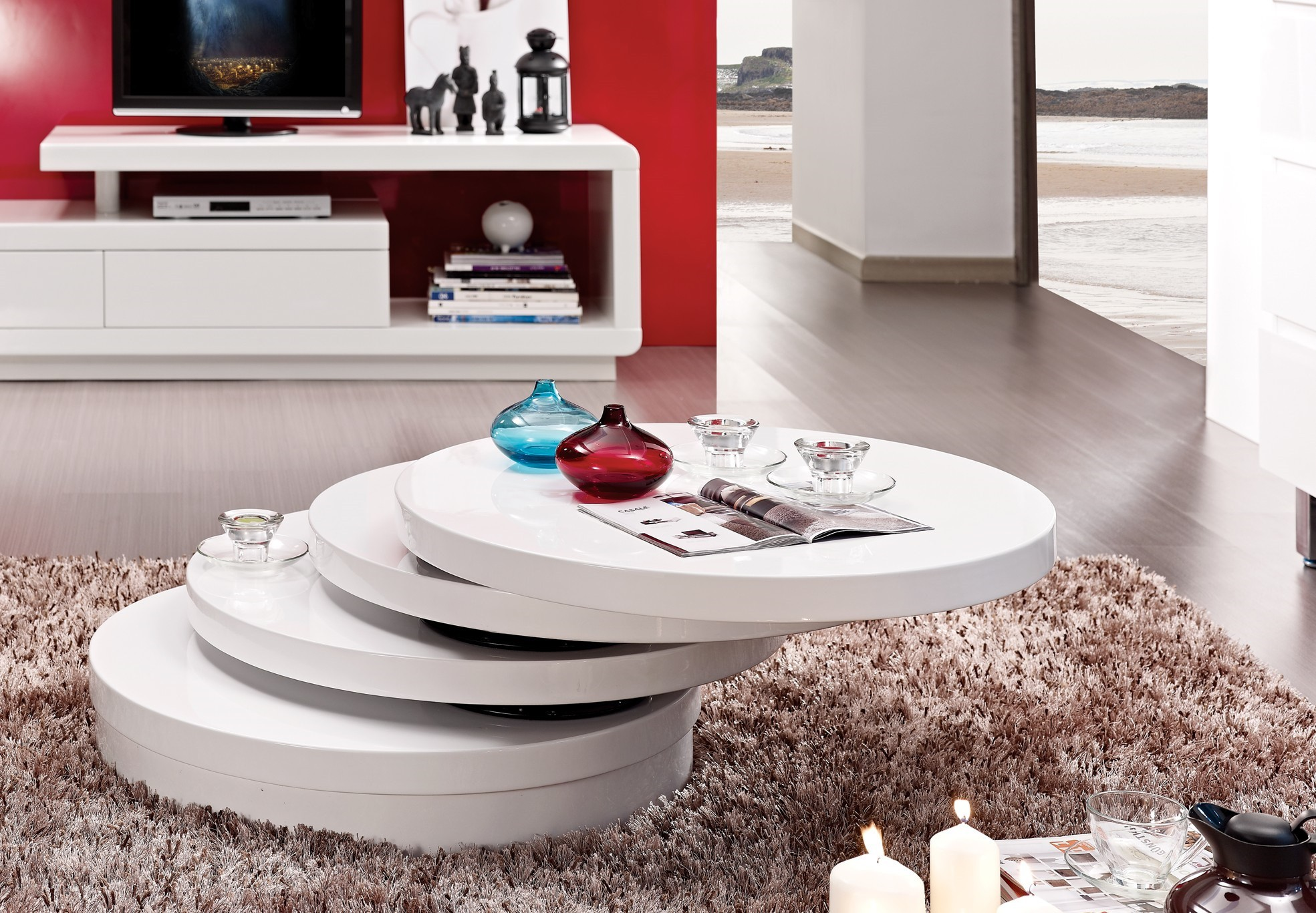 table basse ronde relevable extensible mobilier design d coration d 39 int rieur. Black Bedroom Furniture Sets. Home Design Ideas