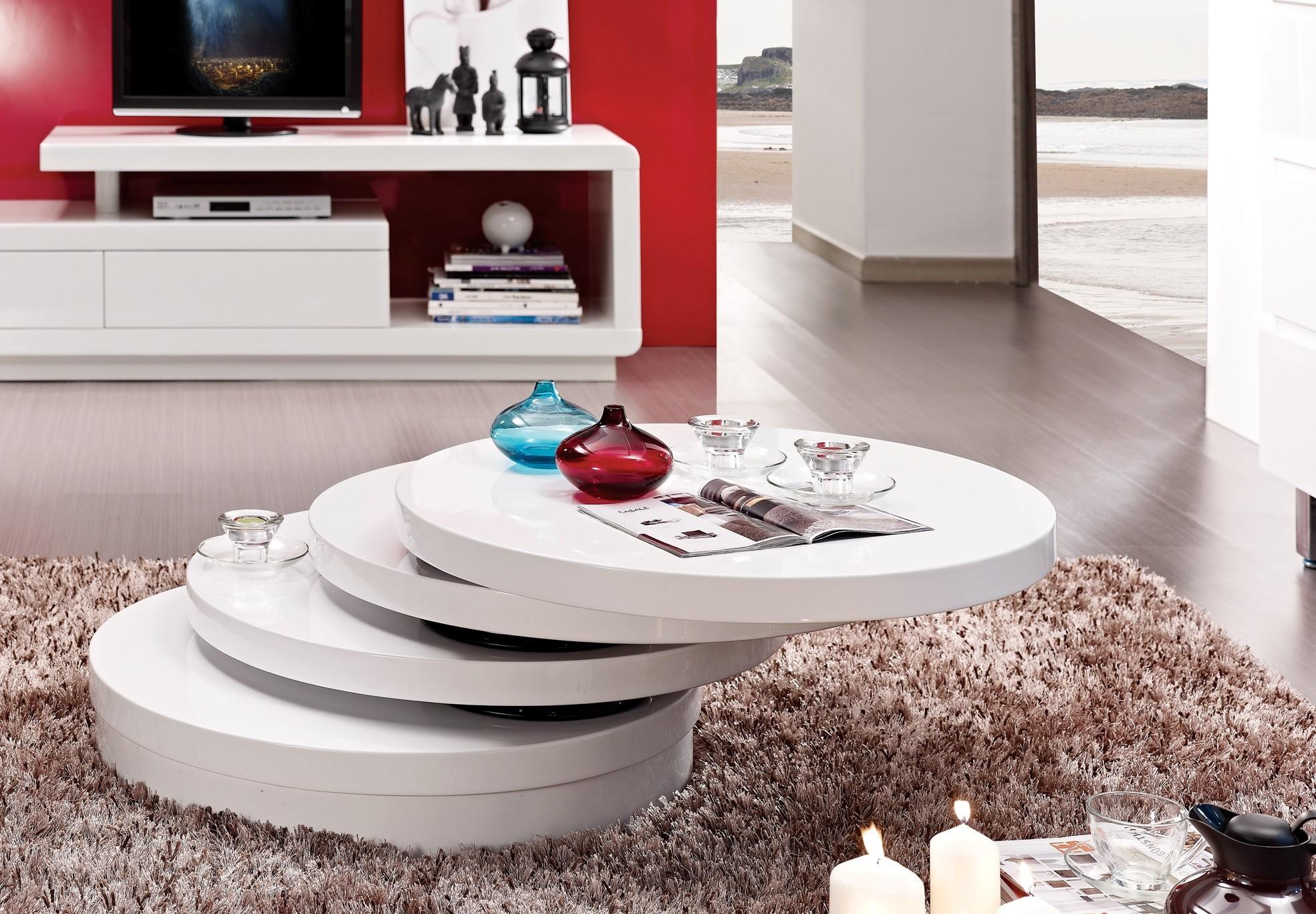table basse ronde relevable extensible mobilier design. Black Bedroom Furniture Sets. Home Design Ideas