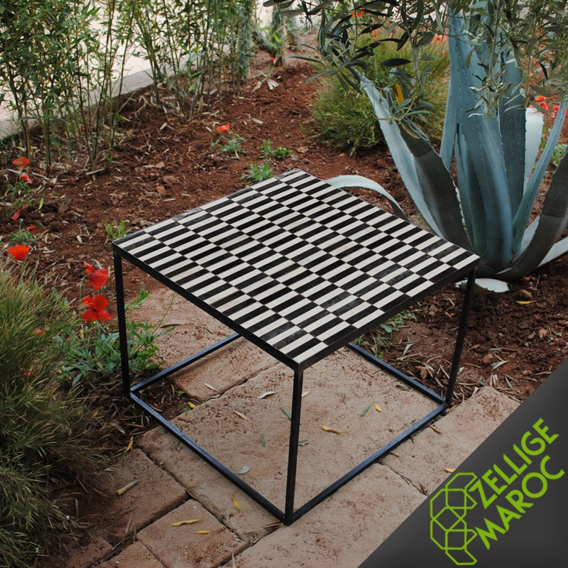 Zellige pas cher perfect table en zellige lina with for Carrelage zellige pas cher