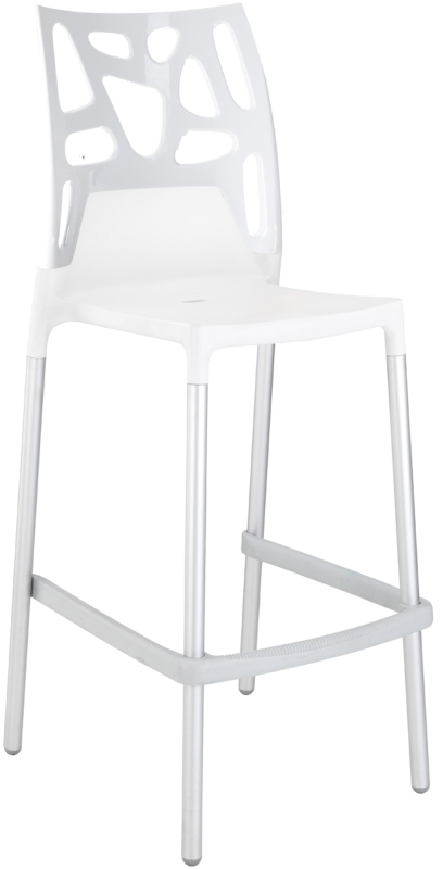 tabouret haut blanc good runah tabouret haut de bar rglable en hauteur gris with tabouret bar. Black Bedroom Furniture Sets. Home Design Ideas