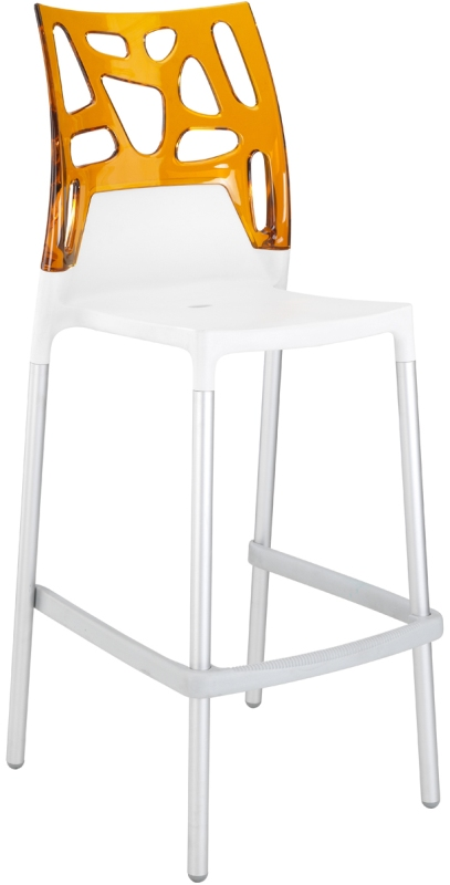Tabouret de bar orange design