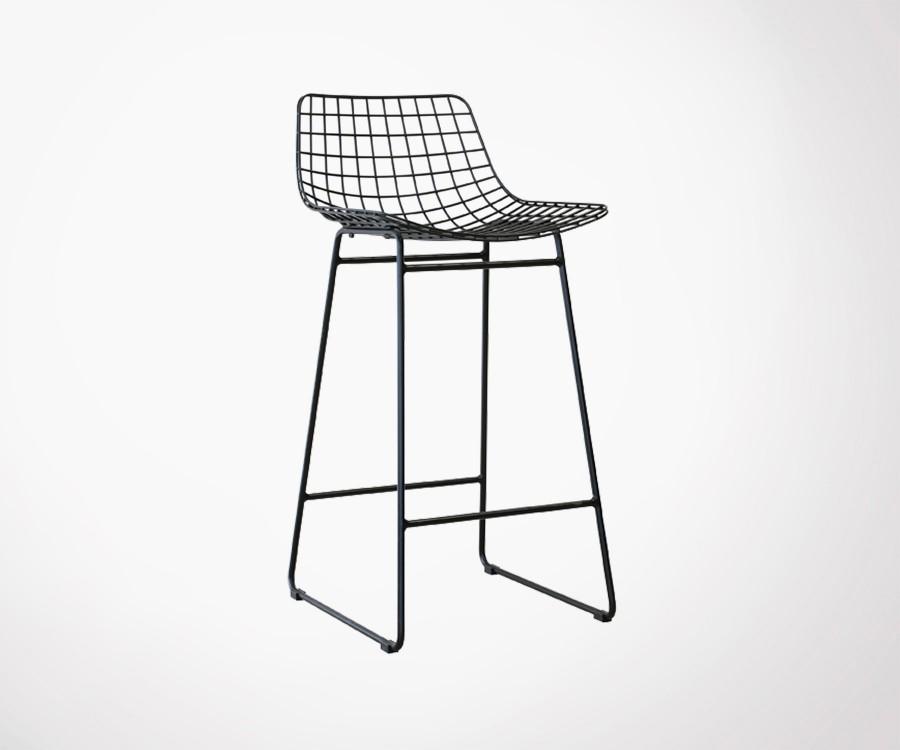 Meuble tv industriel bois metal pas cher mobilier design for Meuble industriel metal pas cher
