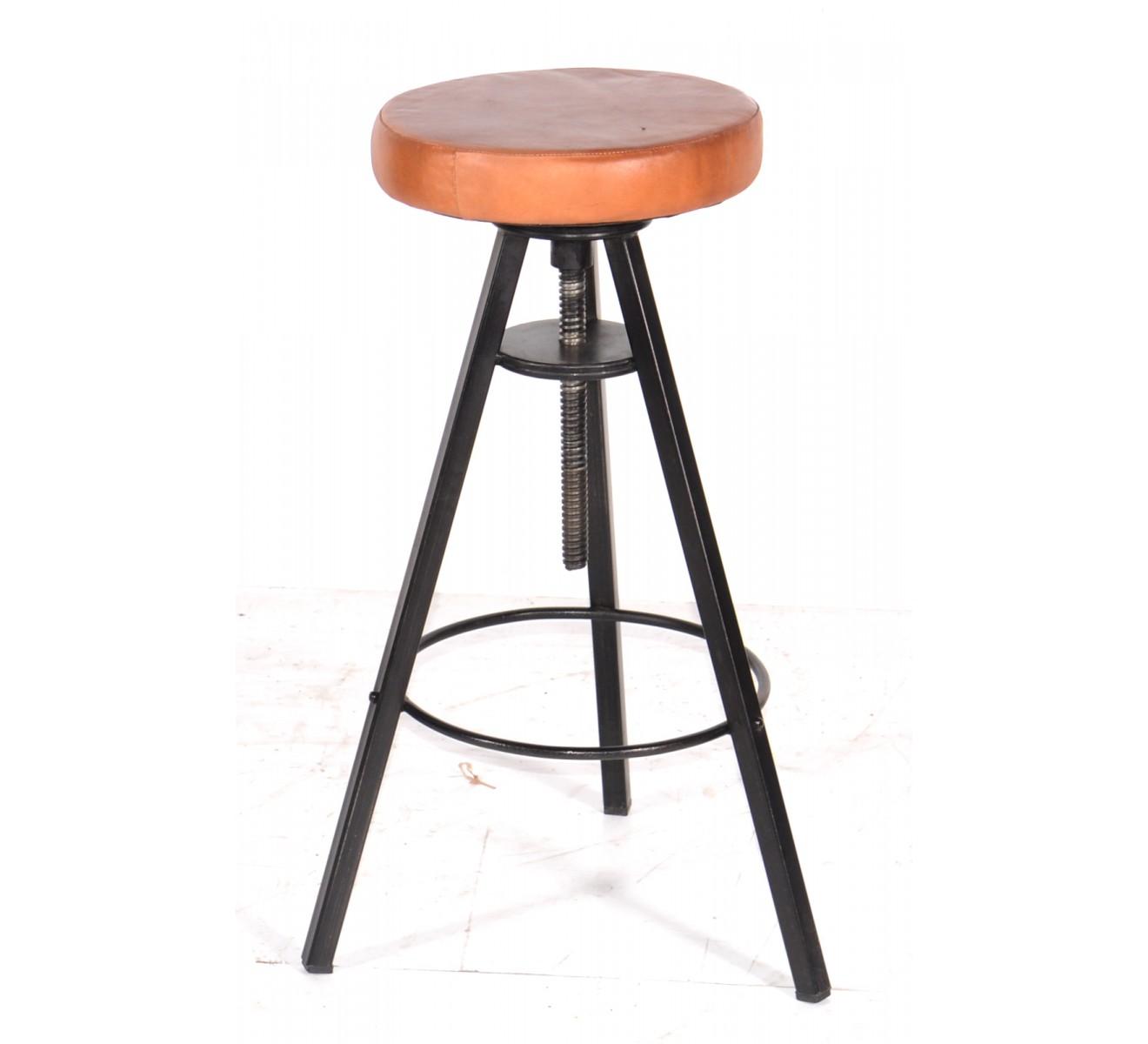 tabouret de bar industriel 65 cm mobilier design d coration d 39 int rieur. Black Bedroom Furniture Sets. Home Design Ideas