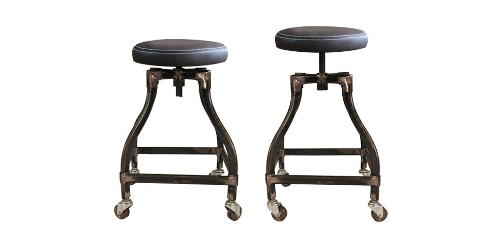 tabouret industriel pas cher good meubles de bar meubles de bars tabouret de bar with tabouret. Black Bedroom Furniture Sets. Home Design Ideas