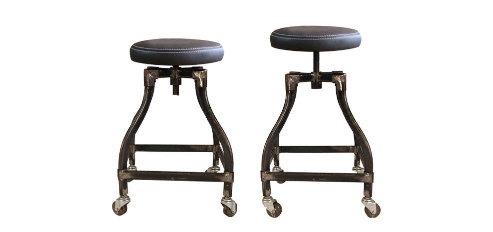 tabouret roulettes but tabourets de comptoir lunch brest. Black Bedroom Furniture Sets. Home Design Ideas