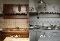 Repeindre un meuble de cuisine - Mobilier design, décoration d ...