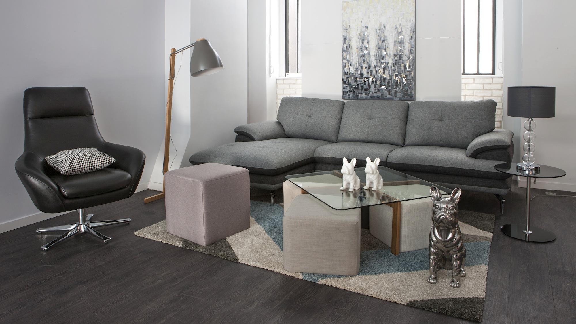 Table Basse Avec Pouf But.Table Basse Avec Poufs Integres Ikea Mobilier Design
