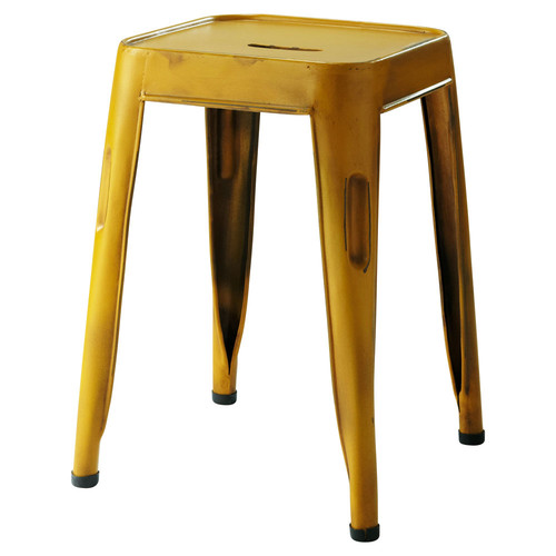 Tabouret de bar jaune maison du monde mobilier design - Tabouret de cuisine design jaune ...