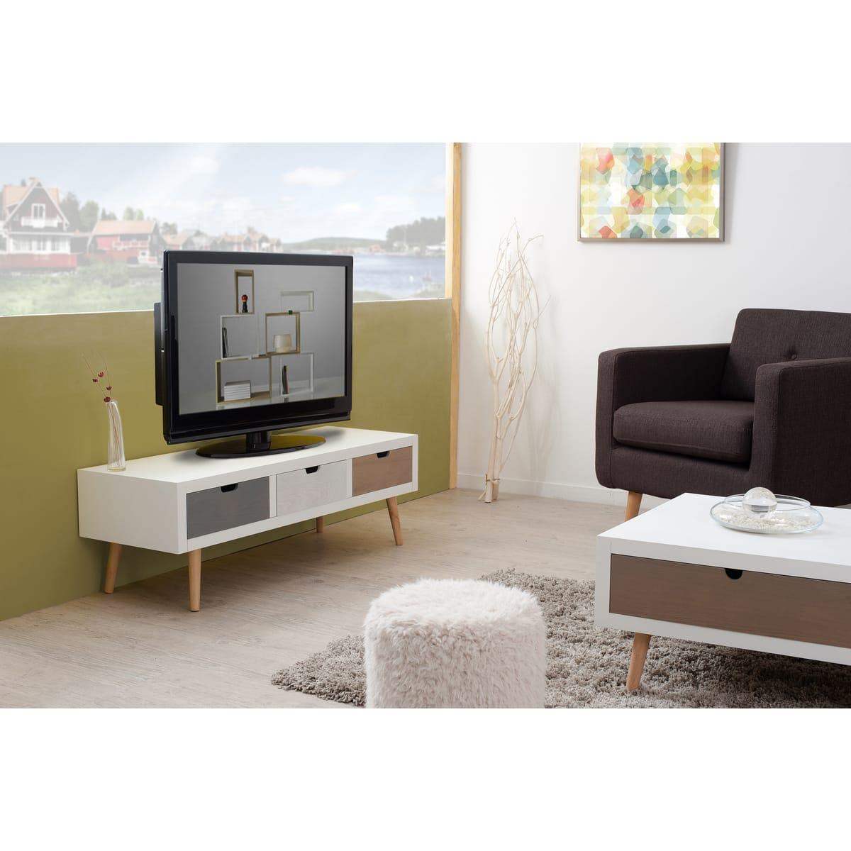 Meuble tv zoe mobilier design d coration d 39 int rieur for Meuble interieur design