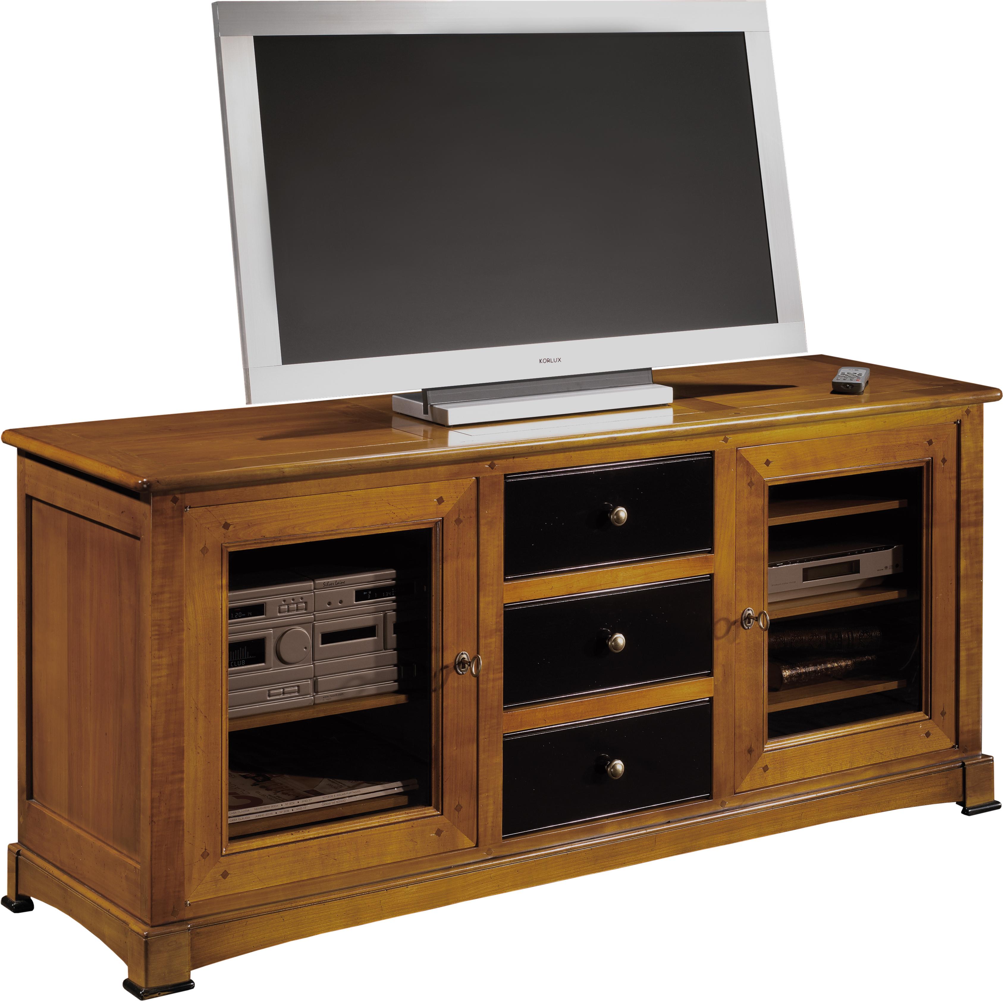 Meuble Tv Hifi Bois Mobilier Design D Coration D Int Rieur # Meuble Tv En Merisier