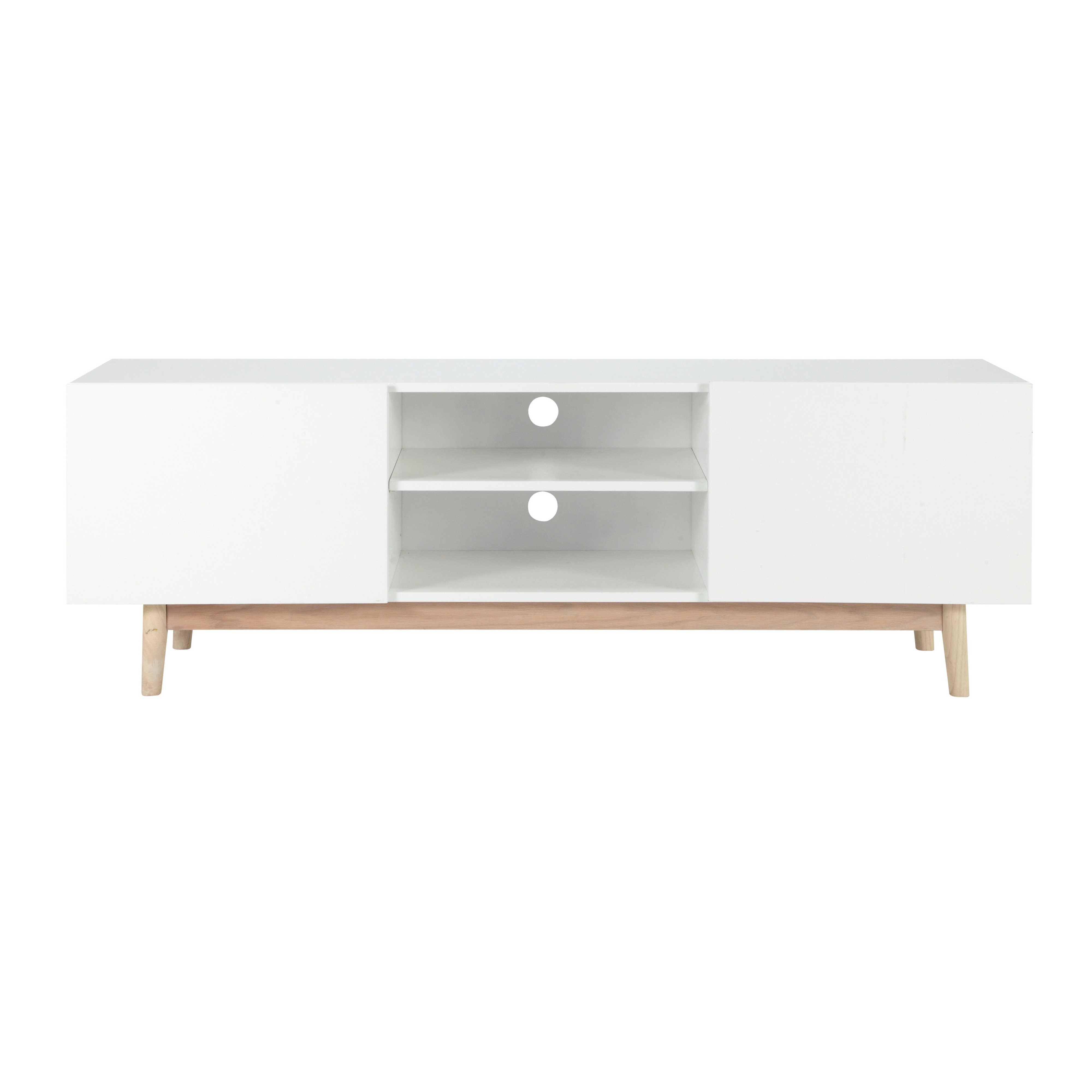 Meuble Tv Tres Fin Mobilier Design D Coration D Int Rieur # Meuble Tv Bois Et Fer Design