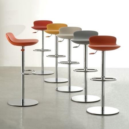 Tabouret de bar ajustable mobilier design d coration d 39 int rieur for Tabouret bar ajustable