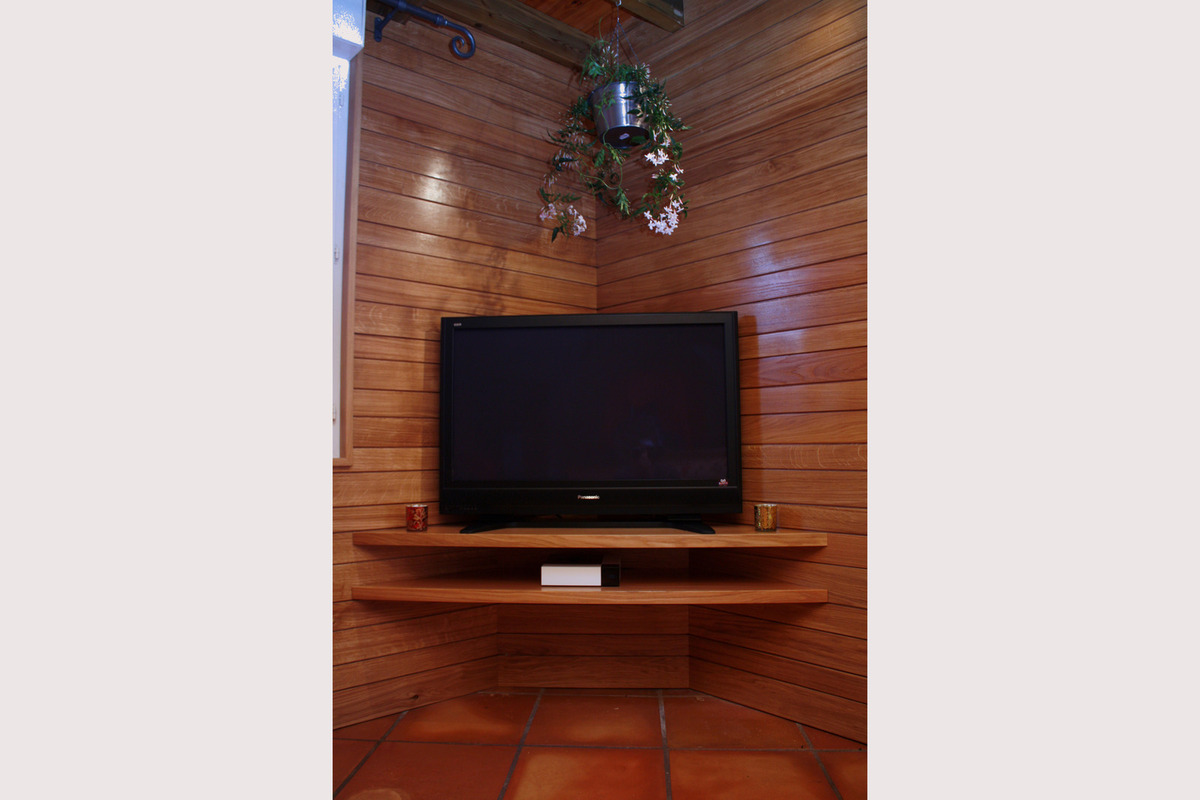 Meuble Tv En Coin Mobilier Design Decoration D Interieur