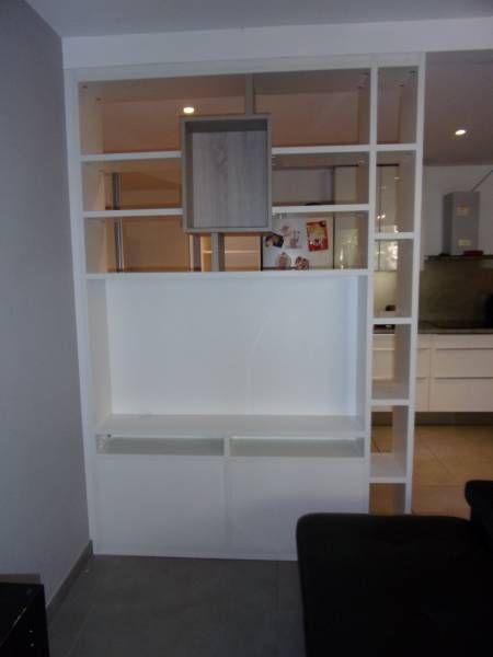 Meuble tv qui se cache mobilier design d coration d 39 int rieur for Meuble qui cache la tv