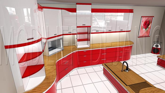 Meuble de cuisine ouverture tactile mobilier design d coration d 39 int rieur for Mobilier cuisine design