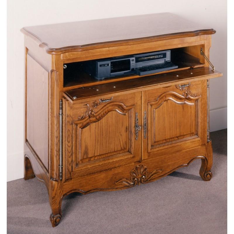 Meuble tv xxl style louis philippe en pin mobilier design d coration d 39 int rieur - Meuble tv louis philippe occasion ...