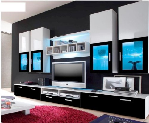 meuble tv grand mobilier design d coration d 39 int rieur. Black Bedroom Furniture Sets. Home Design Ideas
