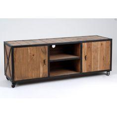 meuble tv industriel fly mobilier design d coration d 39 int rieur. Black Bedroom Furniture Sets. Home Design Ideas