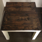 Table basse ikea chene