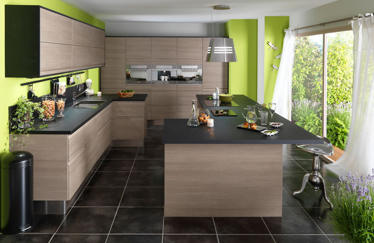 Cuisine aménagée équipée - Mobilier design, décoration d\'intérieur