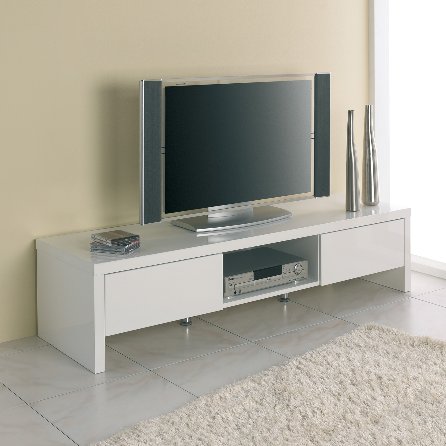 Meuble tv hauteur 100 cm mobilier design d coration d for Meuble tv 100 cm design