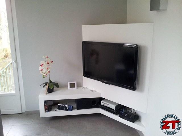 meuble tv en placo mobilier design d coration d 39 int rieur. Black Bedroom Furniture Sets. Home Design Ideas