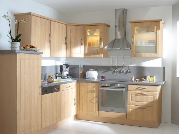 Meuble de cuisine en bois mobilier design d coration d 39 int rieur for Mobilier cuisine design