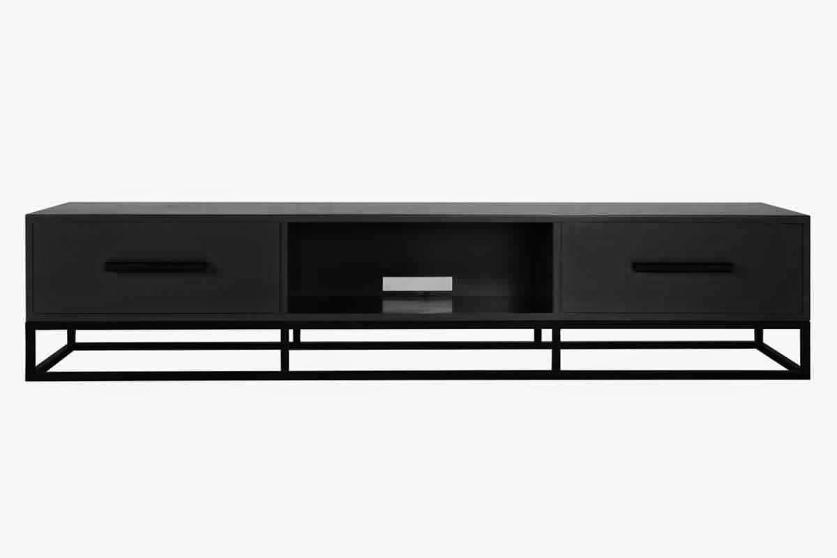 prix le plus bas cabc8 bae2e Meuble tv noir metal - Mobilier design, décoration d'intérieur