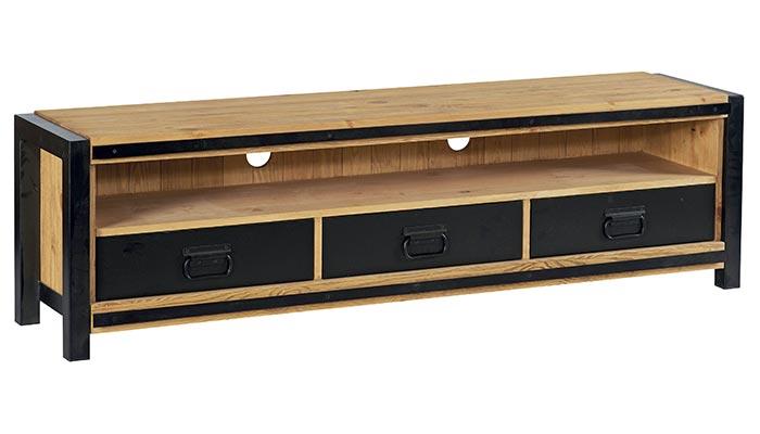 meuble tv en pin mobilier design d coration d 39 int rieur. Black Bedroom Furniture Sets. Home Design Ideas
