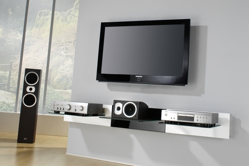 meuble tv a fixer au mur mobilier design d coration d. Black Bedroom Furniture Sets. Home Design Ideas