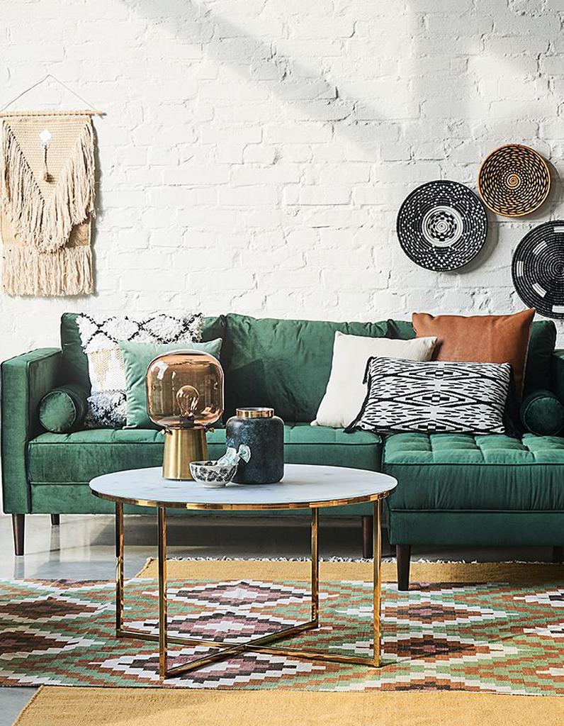 Table basse home24 mobilier design d coration d 39 int rieur - Nettoyer une table en marbre ...