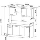 Dimension armoire cuisine