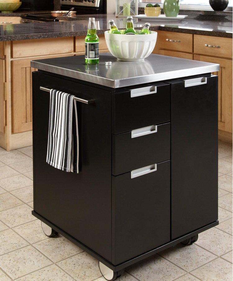 Meuble de cuisine sur roulette mobilier design d coration d 39 int rieur - Meuble cuisine roulette ...